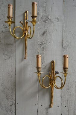 Pair of French Wall Lights