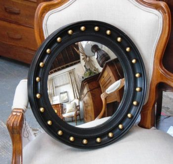 Vintage Butlers Porthole Convex Mirror