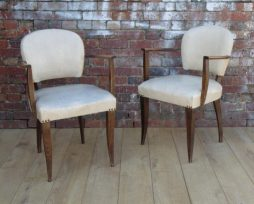 Pair Antique French 1930s Bridge Chairs