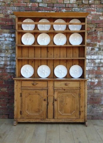 Early 19th Century Antique Irish Pine Dresser