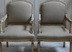 Pair of Antique Louis Cairns Chairs