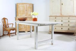 Antique French Work Table or Kitchen Island
