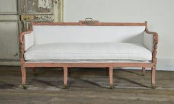 Antique Regency Campaign Sofa