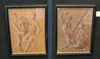 Pair of Drawings by Peter Todd Mitchel