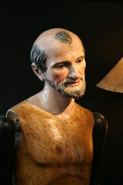 19th Century Life Size Articulated Figure of a Saint