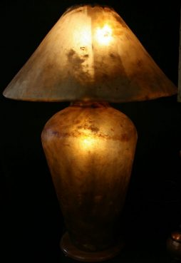 Antique Camel Skin Lamp