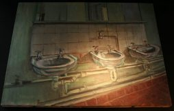 Sinks Oil on Canvas Painting