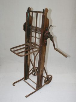 Antique Industrial Lifting Trolley