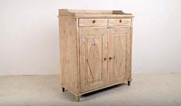 Antique Gustavian Swedish Buffet Cupboard