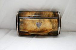 Antique 19th Century Horn Snuff Box