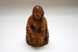 Antique Goanese Ivory Carving