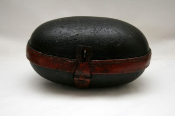 Antique Leather Box Object