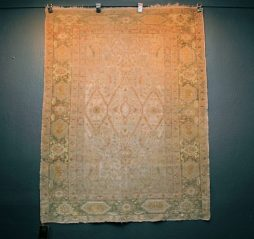 Antique 19th Century Hand Knotted superfine Ghiordes Rug -POA