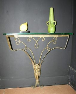 Console Table Signed Pier Luigi Colli