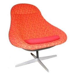 Iconic Lura Shell Swivel Chair
