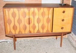 Iconic Atomic Cabinet Designed by Robert Heritage for Vanson