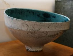 Ceramic Raku Vessel By Matt Sherrat