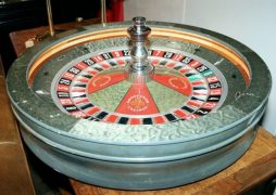 The Grosvenor Casino Roulette Wheel