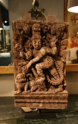 Antique Indian Decorative Wood Carving