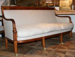 Antique French Empire Sofa