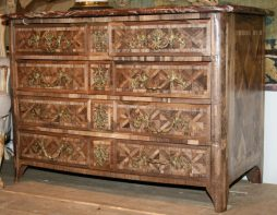 Antique French Regency Rosewood Commode