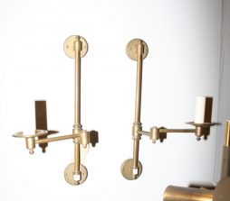 Pair of Swing Arm Wall Lights