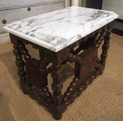 An Unusual Antique Side Table Plinth