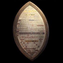 Antique Decorative 19th Century Plaque