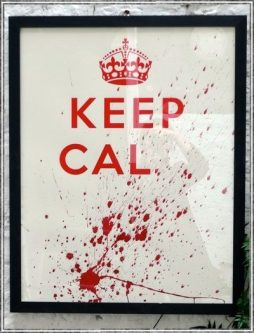 Keep Calm Limited Edition By Artist Huw Griffith - POA