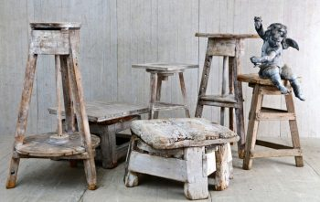 Antique Collection of Artists Sculpture Stands - POA