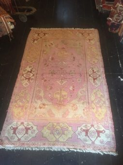 Antique Early 1900's Rare Transilvanian Ushak Rug - POA