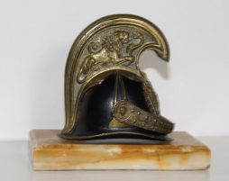 Antique Model of an Officers Helmet of Austrian Imperial Dragoon Gaurds