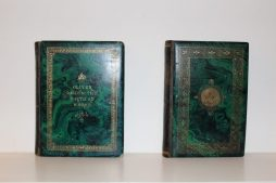 Two Antique Books One the Poems of Thomas Campbell the other Oliver Goldsmith Poetical Works