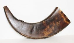 Large Antique Gunpowder Horn