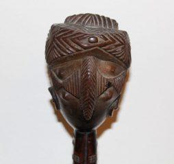 Antique Baule Wood Carving