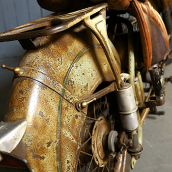 French Vintage Motorcycle