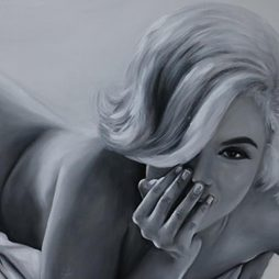 Original Di Capri Marilyn Monroe Oil Painting