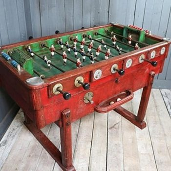 Early 20th Century Cafe Football Table