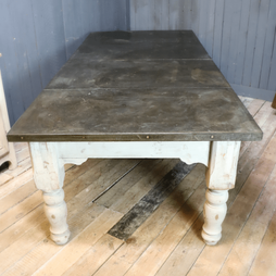 20th Century Slate Topped Dining Table