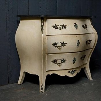 20th Century Swedish Bombe Commode