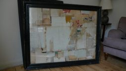 Large Decollage By Artist Huw Griffith - POA