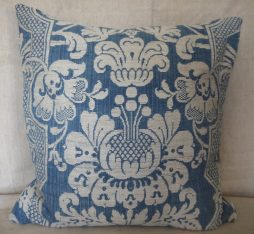 Antique 19th Century Toile d'Abbeville Cushion