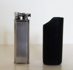 Solid Silver Dunhill Sylphite Gas Lighter