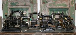 Collection of 13 Antique Sewing Machines