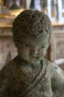 English Antique Stone Figure