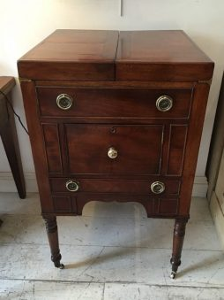Antique Campaign Dressing Stand