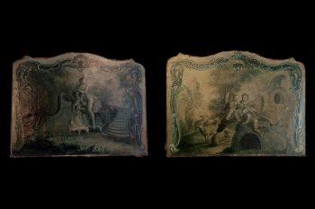 Pair of 18th Century Antique Panels