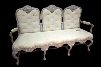 Antique 18th Century Swedish Rococo Sofa