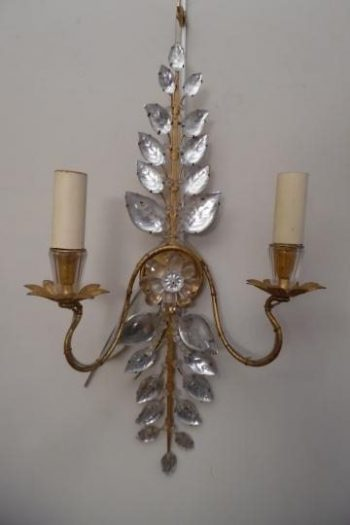 Antique Bagues Wall Light