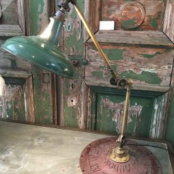 Antique Adjustable Dentist Lamp